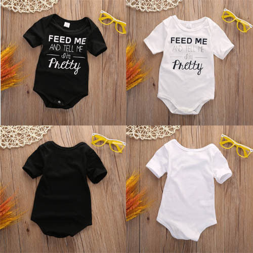 Newborn Short Sleeve Outfit
