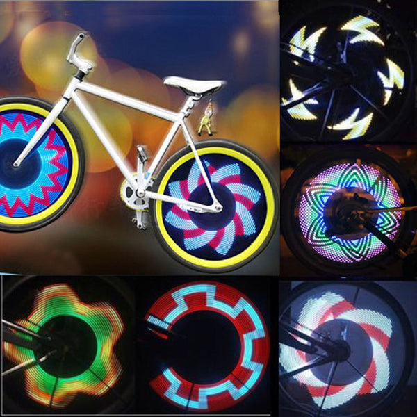 32 LED 32-pattern Colorful Bicycle Lights - 1000Miles