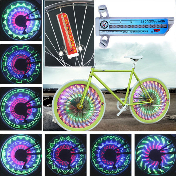 32 LED 32-pattern Colorful Bicycle Lights