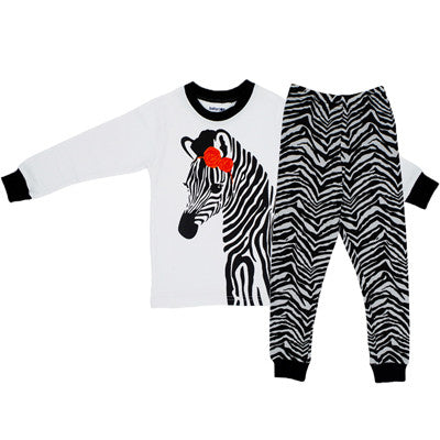 BABY BOY & GIRL ZEBRA SET