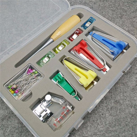 BIAS TAPE MAKERS KIT (WITH CASE)