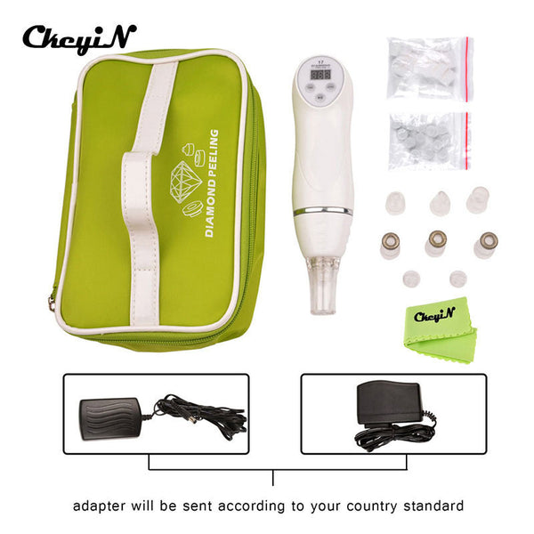 Portable Multifunction Diamond Peeling Facial Spa Device Anti-aging