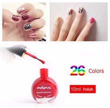 Nail stamp polish for nail art stamp and printing colors machine (26 color)