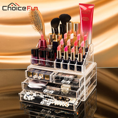 Durable Acrylic Makeup and Accessories Organizer