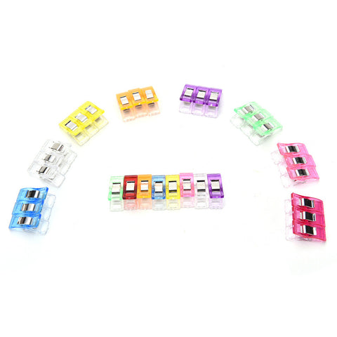 50Pcs Multicolor Sewing Clip Set - FREE Shipping