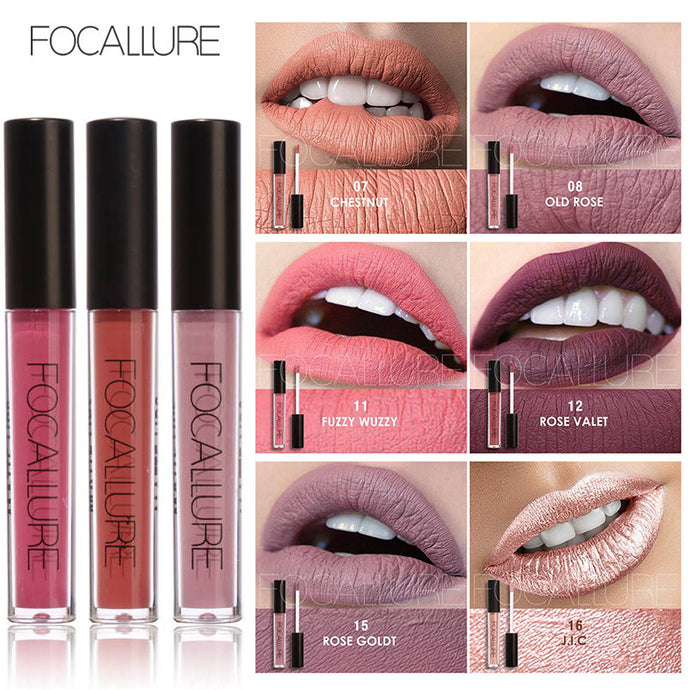 Focallure™ Waterproof Matte Liquid Lipstick