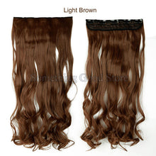 False Hair Styling Synthetic Clip In Hair Extensions