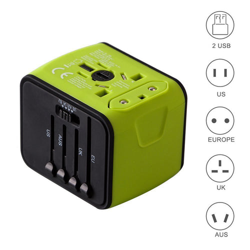ALL-IN-ONE UNIVERSAL PLUG ADAPTER
