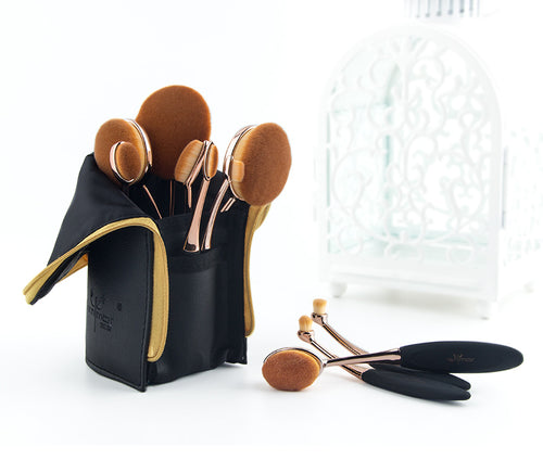 ANMOR ™ 10 PIECE OVAL BRUSH SET