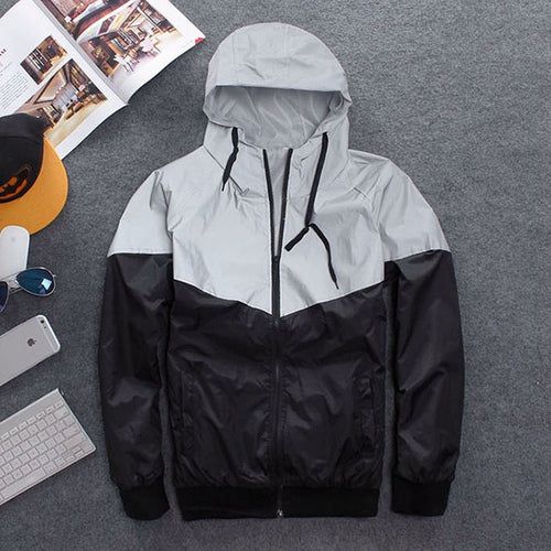 Mens Windbreaker jacket
