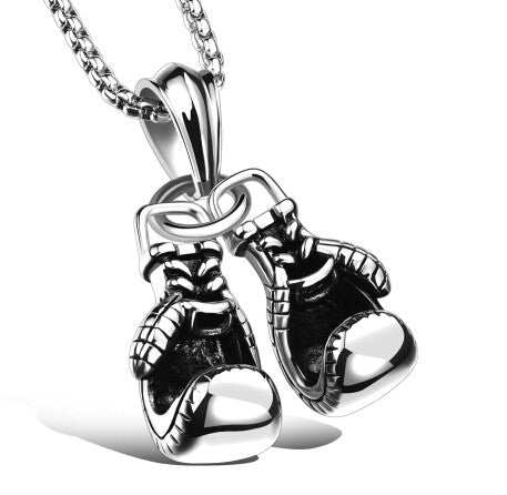 Mini Stainless Steel Boxing Glove's Necklace - 1000Miles