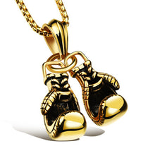 Mini Stainless Steel Boxing Glove's Necklace