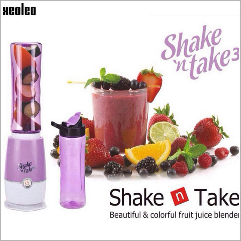 Shake n Take Multi-function Juicer extractor Smoothie Maker - 1000Miles