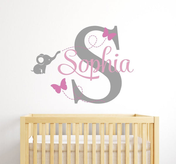 Customized Name Mural Removable Vinyl Wall Sticker - 1000Miles