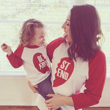 """BEST FRIEND"" Mother and Kid Matching Clothing Outfit"