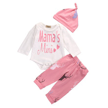 0-18M Newborn Baby MAMA's Mini Long Sleeve Deer Clothing Set - 1000Miles