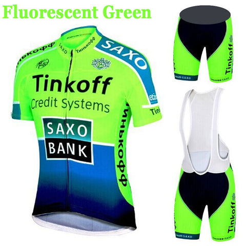 SaxoBank Tinkoff Quick-Dry Breathable Cycling Sportswear - 1000Miles