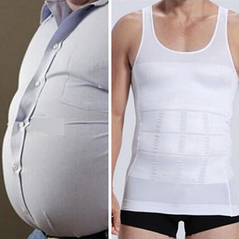 Men's Body Shaper Slimming Vest Singlet
