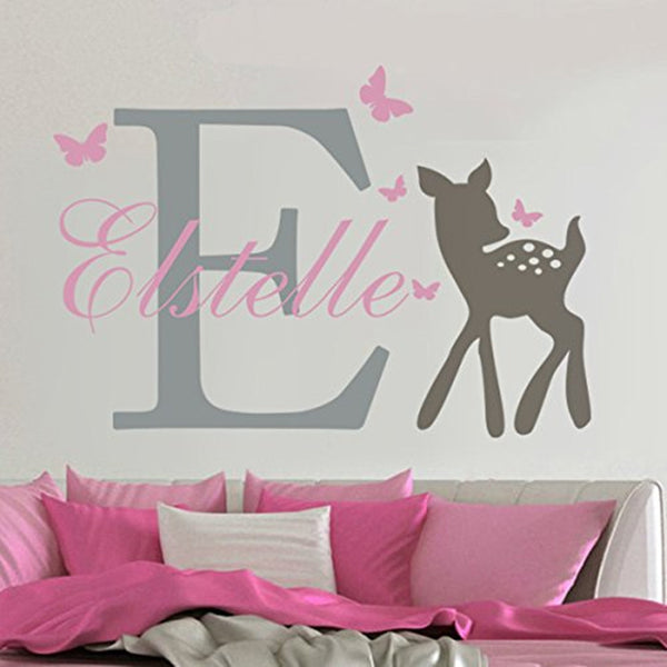 Customized Name Mural Removable Vinyl Wall Sticker