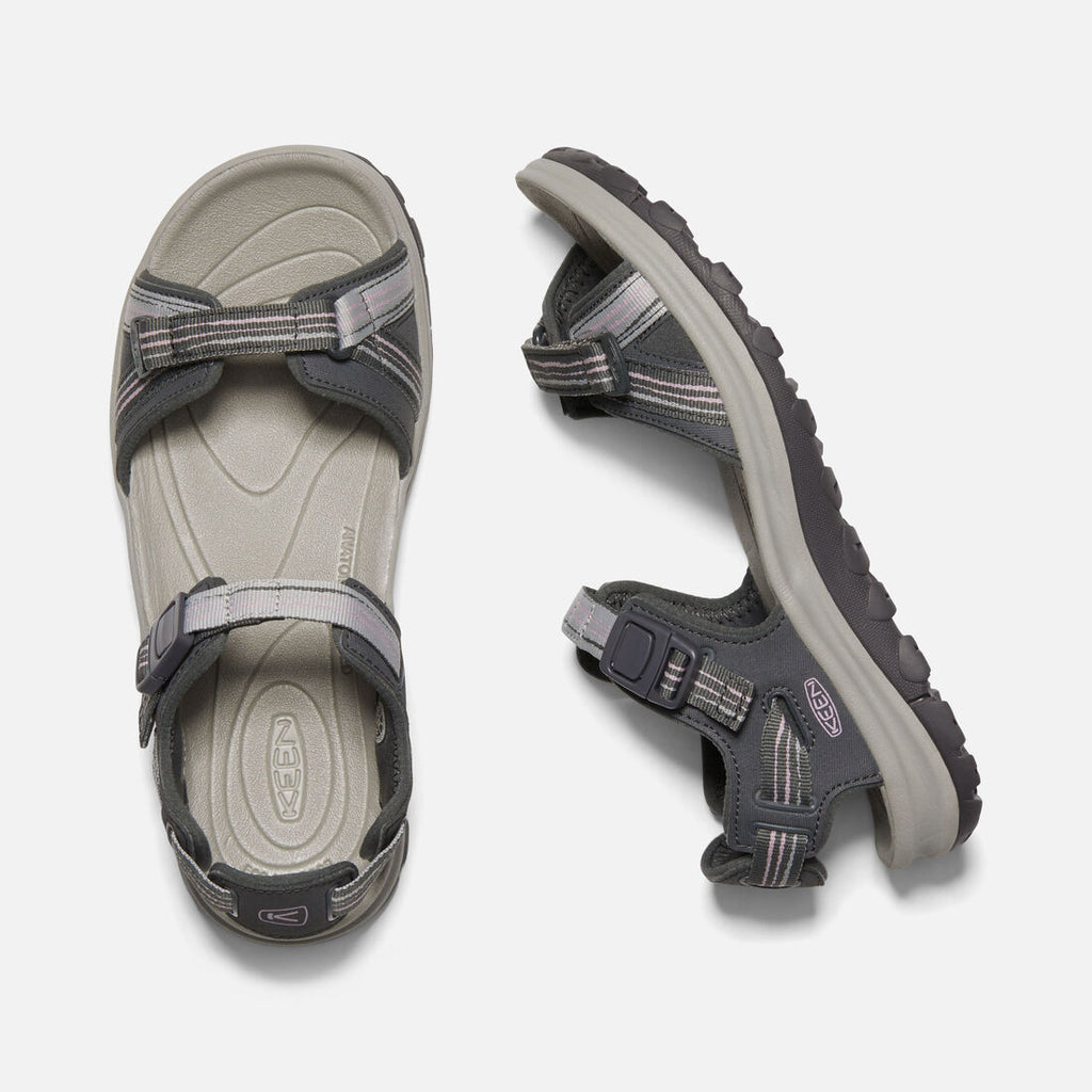 Keen Terradora II - Open Toe Dark Grey/Dawn Pink (Womens)