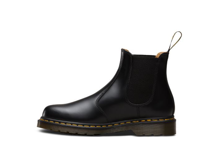 Dr Martens 2976 Black Yellow Stitch
