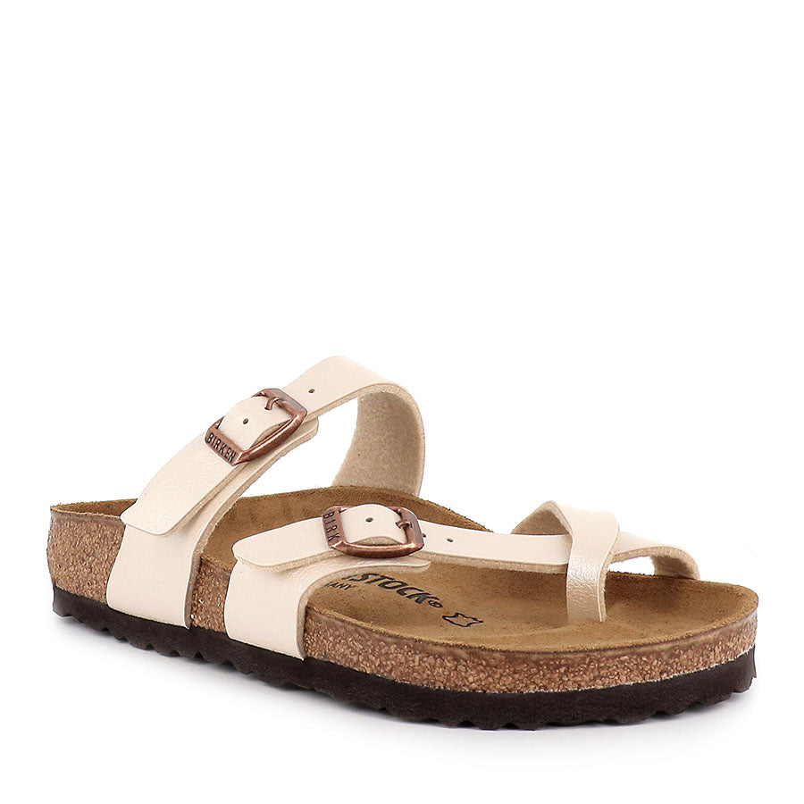 Birkenstock Mayari BF Graceful Pearl White ( Regular)