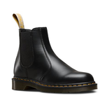 Dr Martens 2976 Vegan Chelsea Black Yellow Stitch
