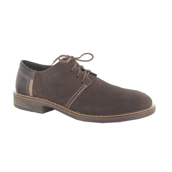 naot chief brown mens lace up shoe