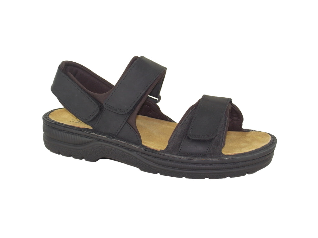 naot arthur oily coal mens sandal