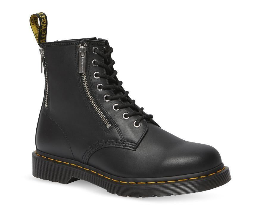 Dr Martens 1460 Zip 8 Eye Boot Black