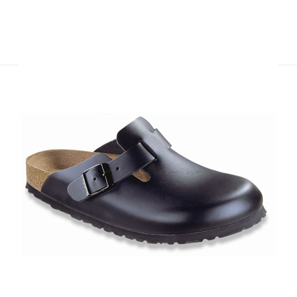 Birkenstock Boston Leather Black (Regular)