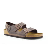 Birkenstock Milano Leather Habana (Regular)