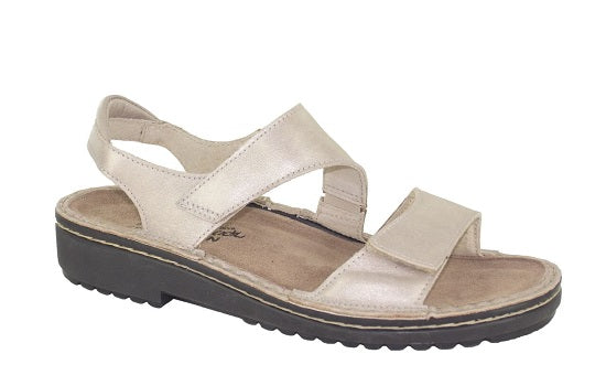 naot enid stardust womens leather sandal
