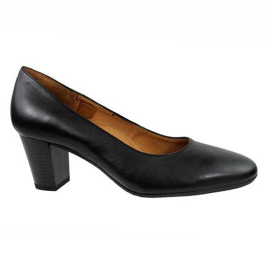 Black Aerobics Hostess shoe 55mm heel