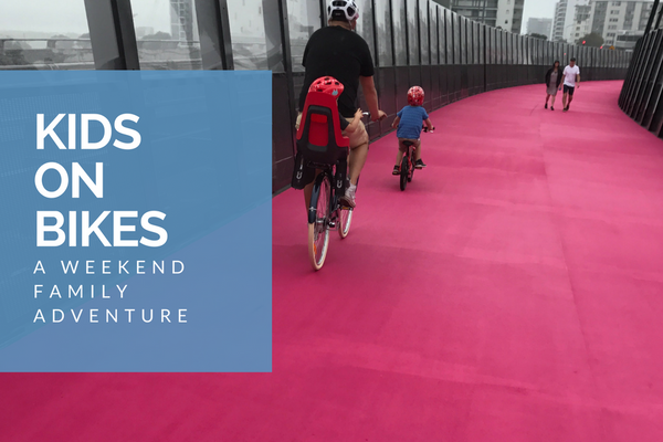 A weekend family adventure, by bike.