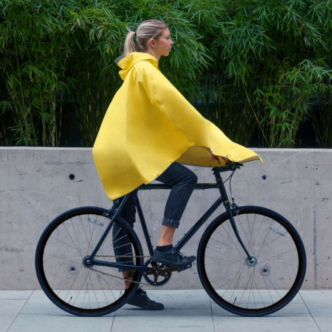 The Peoples Poncho - Fisherman's Yellow