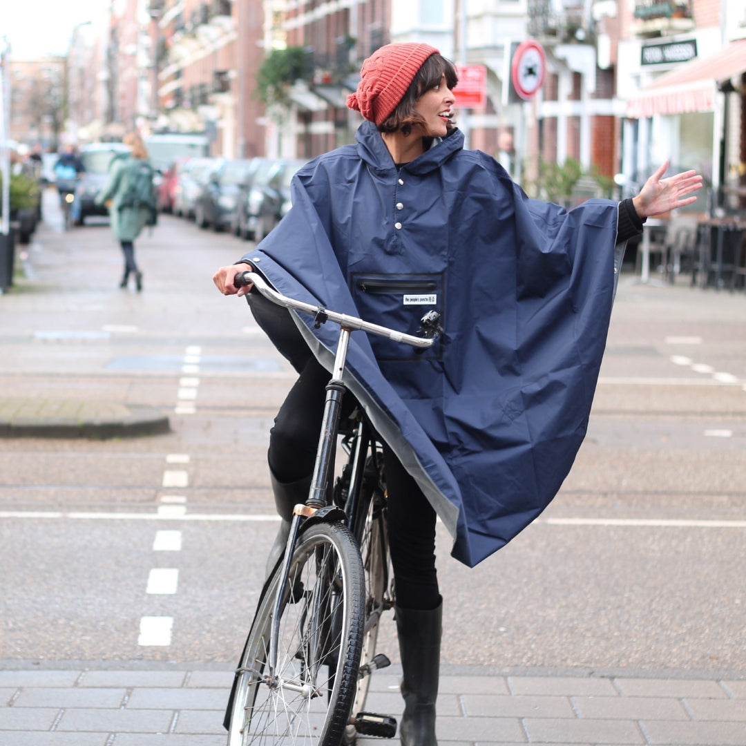 The People's Poncho - Navy