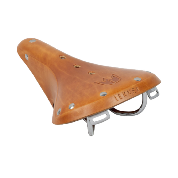 Leather Commuter Saddle - Honey Brown