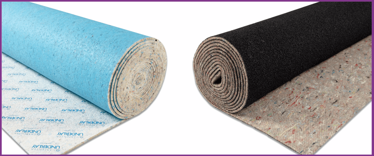Some of the best carpet underlays available in our store