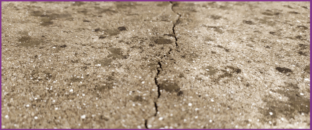 Crack in subfloor that could be smoothed out with laminate underlay