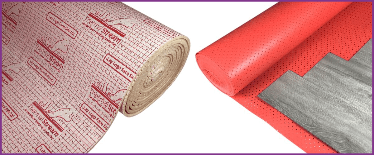 underlay for underfloor heating available at Carpet Underlay Shop