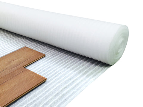 2mm White Underlay For Wood or Laminate Flooring