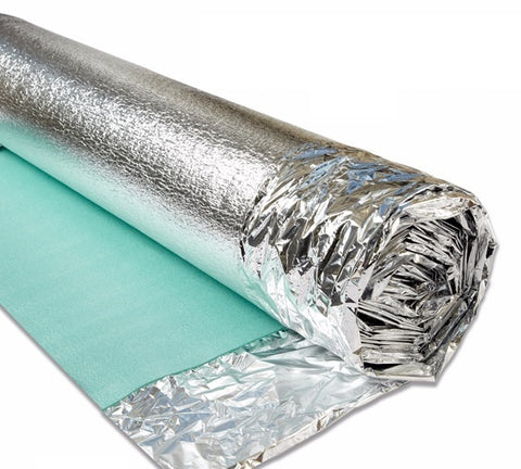3mm Acoustic Silver Wood Underlay from £1.01 per m2