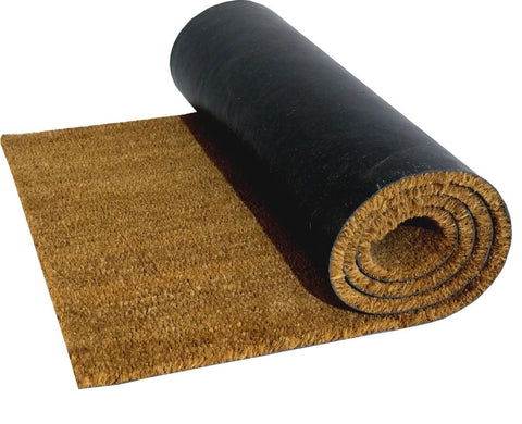 Natural Coconut Coir Entrance Matting (1m width)