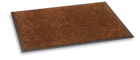 Bruce Starke Cotton Floor Mat - Dark Brown