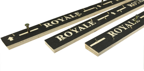 Royale 'Prestige' Carpet Gripper Rods - 60ft Pack (18metres)