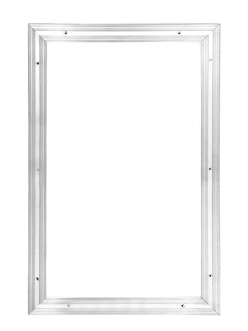 Matwell Frame For Entrance Matting - Silver