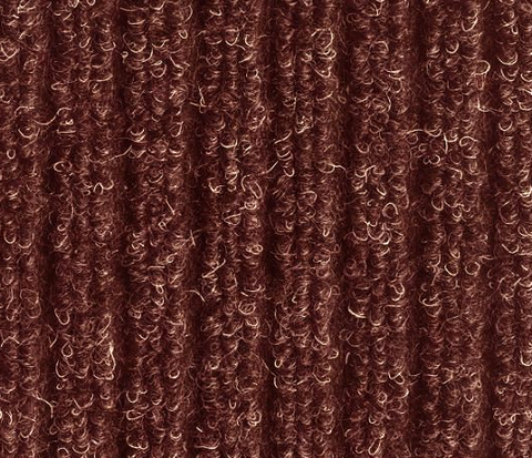 Bruce Starke Fairisle Barrier Matting in Brown with vertical grooves