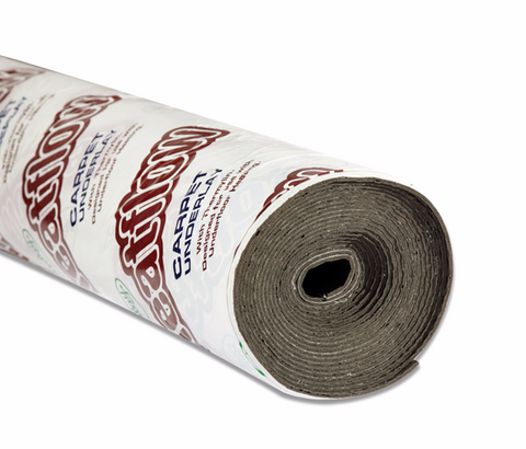 Full roll of Duralay HeatFlow Carpet Underlay