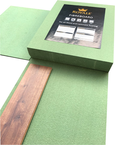 Fibreboard Underlay 5mm - Only £1.68 m2 - 9.78m2 Per Pack